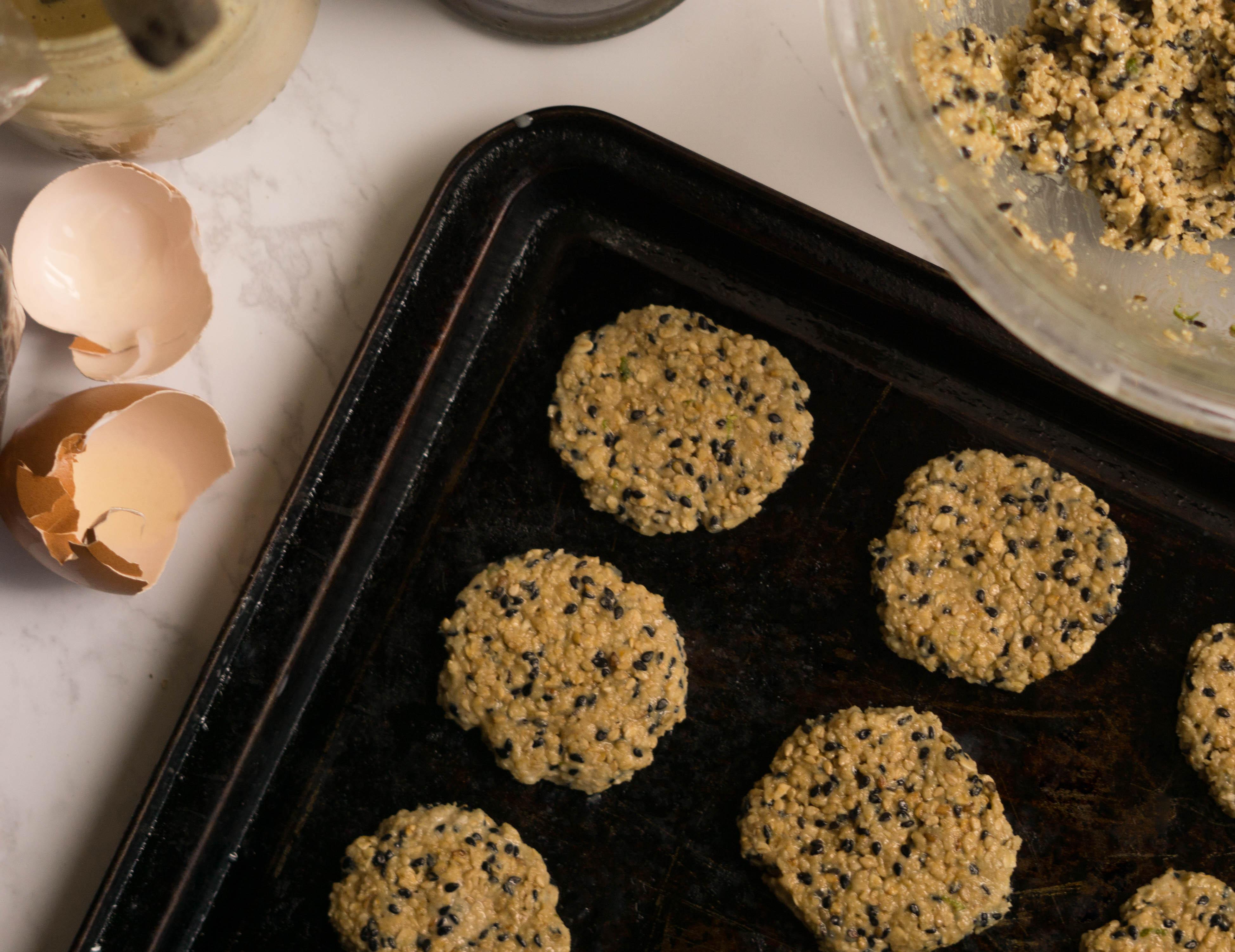 cookies de sesamo