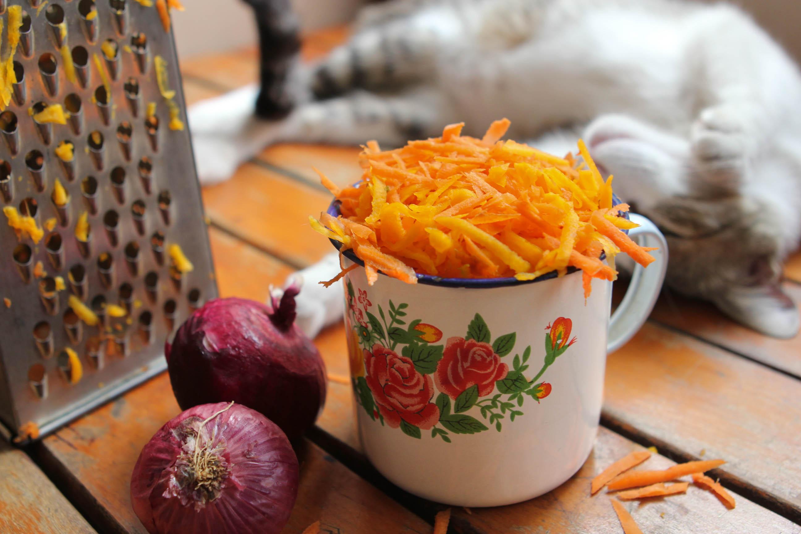 tartita de zanahoria