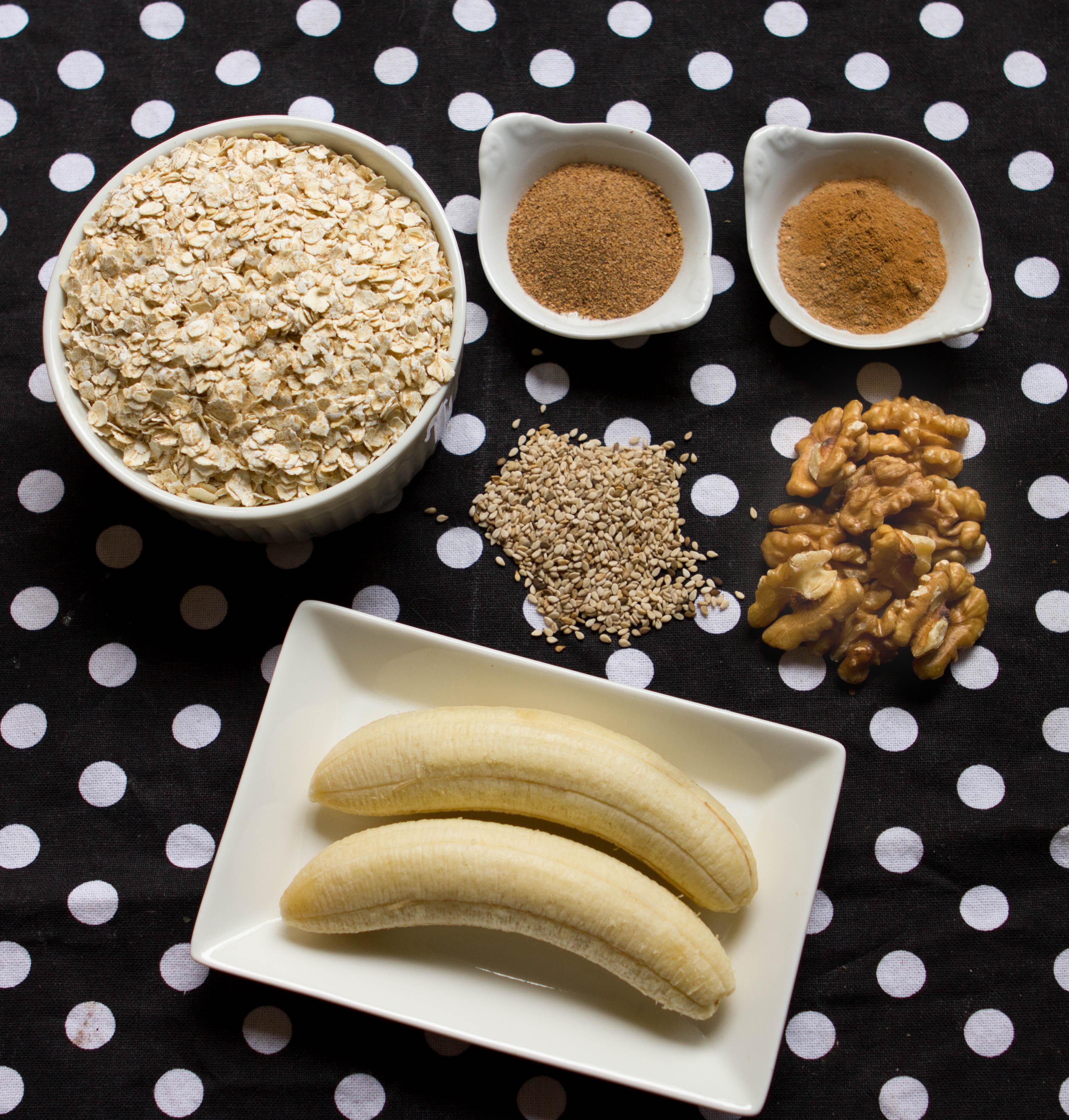 galletita proteica de banana